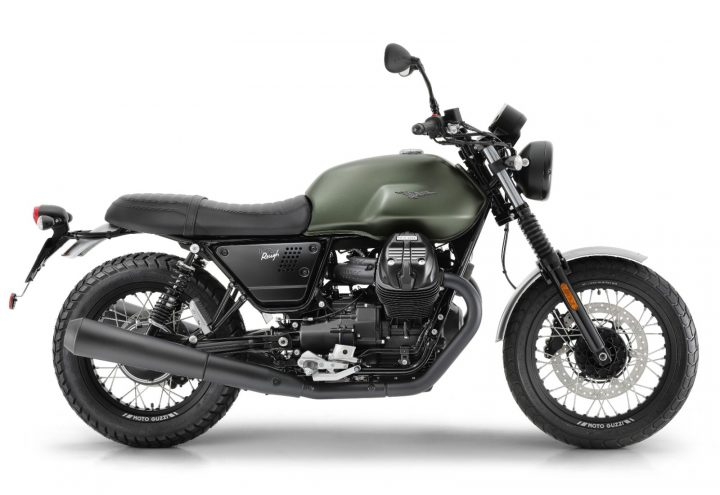2020 Moto Guzzi V7 III ROUGH MY20