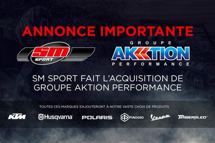 Groupe Aktion Performance se joint à la famille SM Sport