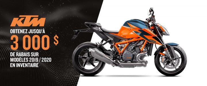 Prenez la route avec une moto KTM – Rabais jusqu'à 3 000 $