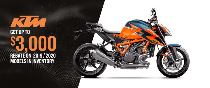 Hit the road with a KTM motorcycle – Discounts up to $3,000