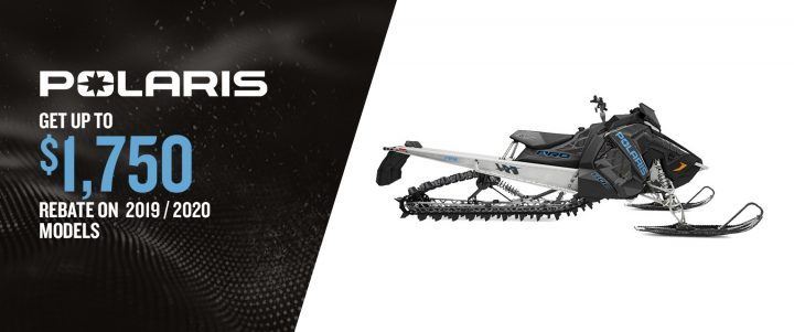 Polaris snowmobiles – Discount up to $1,750