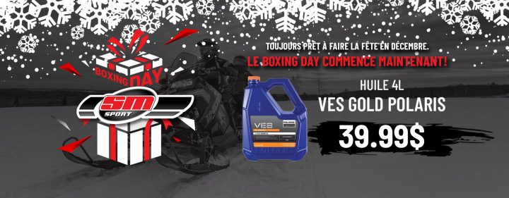 Boxing Day – Huile 4L VES Gold Polaris à 39,99 $
