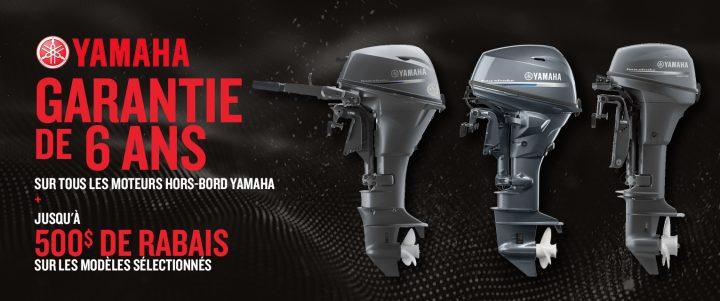 Moteurs hors-bord Yamaha – Économisez jusqu'à 500 $