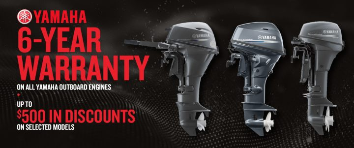 Yamaha outboard engines – Save up to $500