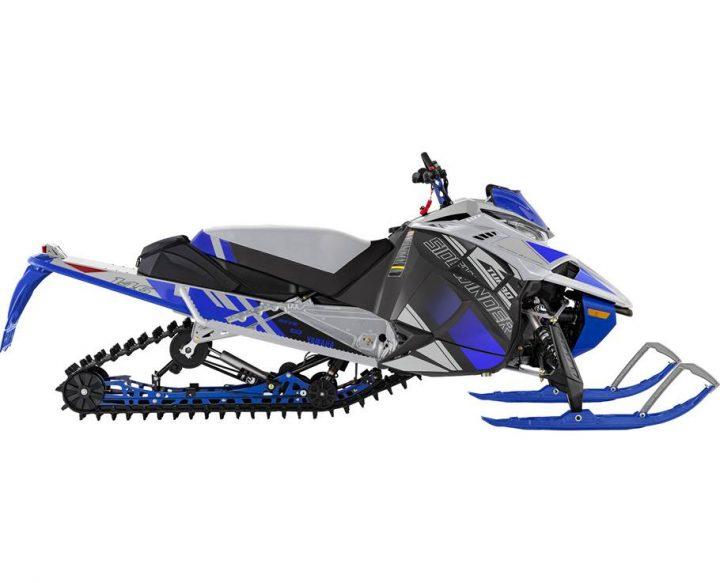 2022 Yamaha SIDEWINDER X-TX LE FROST SILVER/TEAM YAMAHA BLUE