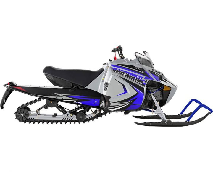 2022 Yamaha SXVENOM FROST SILVER/TEAM YAMAHA BLUE