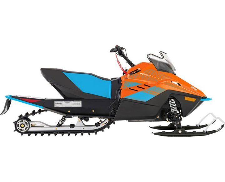 2022 Yamaha SNOSCOOT ES JET ORANGE/JET STREAM BLUE
