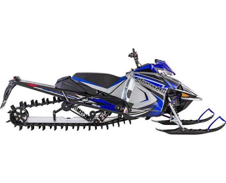 2022 Yamaha MOUNTAIN MAX LE 165 FROST SILVER/TEAM YAMAHA BLUE