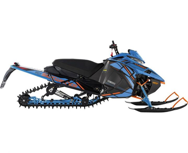 Yamaha SIDEWINDER X-TX SE BLEU GLACÉ/ORANGE VIF 2022