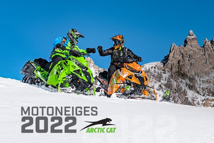 La gamme de motoneiges 2022 Arctic Cat