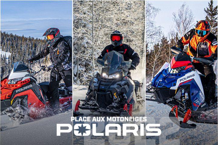 Place aux motoneiges Polaris 2022!