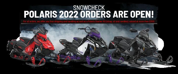 Snowcheck Polaris 2022 orders are now open!