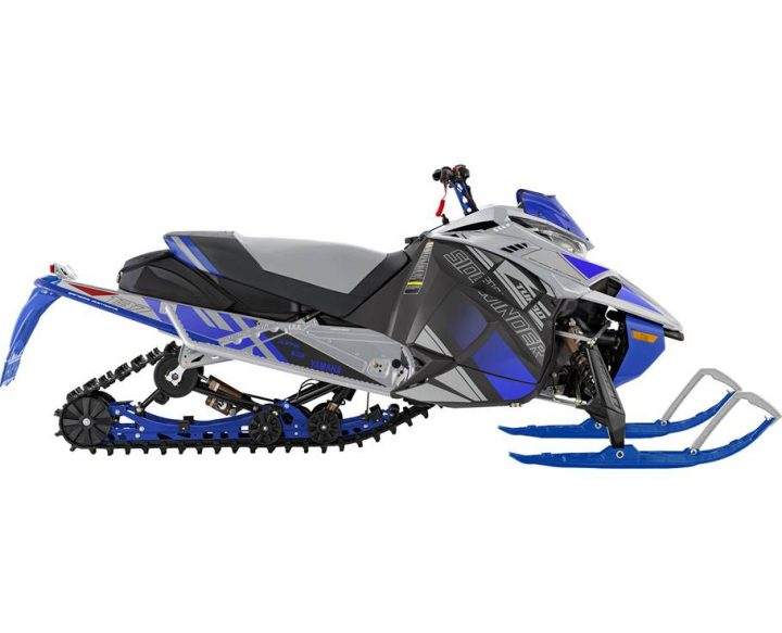 Yamaha SIDEWINDER L-TX LE ARGENT GIVRÉ/BLEU TEAM YAMAHA 2022