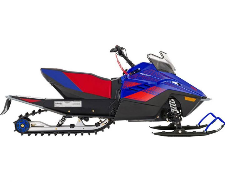 2022 Yamaha SNOSCOOT ES TEAM YAMAHA BLUE/RED