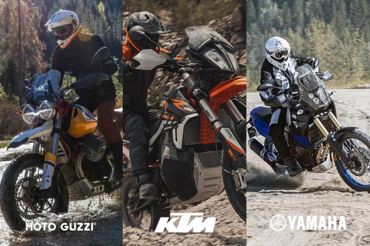 The Battle of The Adventure Motorcycles