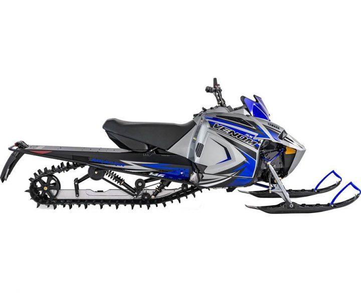 2022 Yamaha SXVENOM MOUNTAIN FROST SILVER/TEAM YAMAHA BLUE