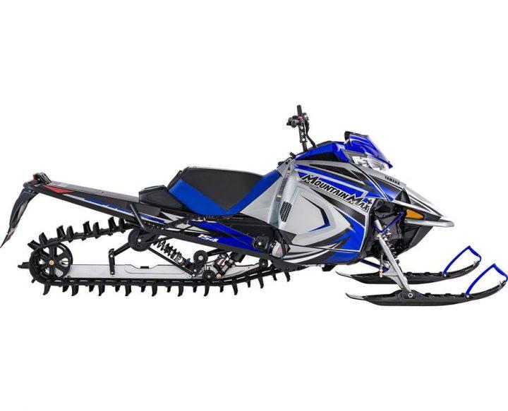 2022 Yamaha MOUNTAIN MAX LE 154 SL FROST SILVER/TEAM YAMAHA BLUE