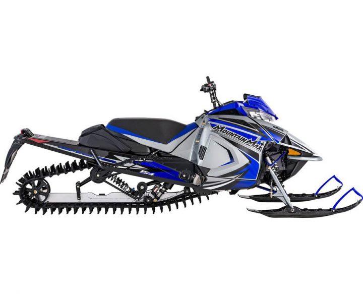 2022 Yamaha MOUNTAIN MAX LE 154 FROST SILVER/TEAM YAMAHA BLUE
