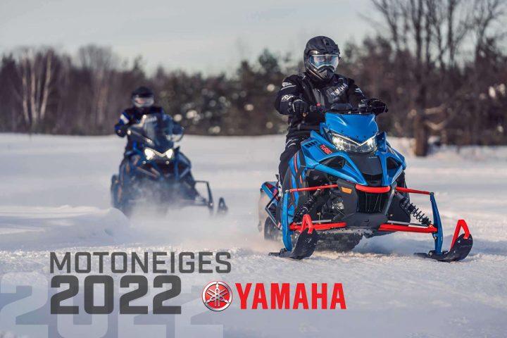 Les motoneiges Yamaha débarquent en force!