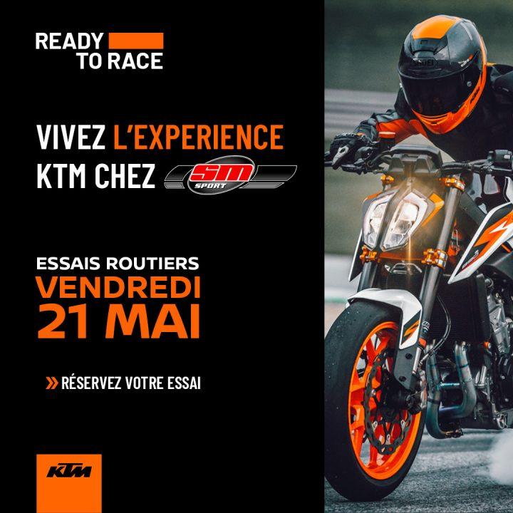 Essais Motos KTM