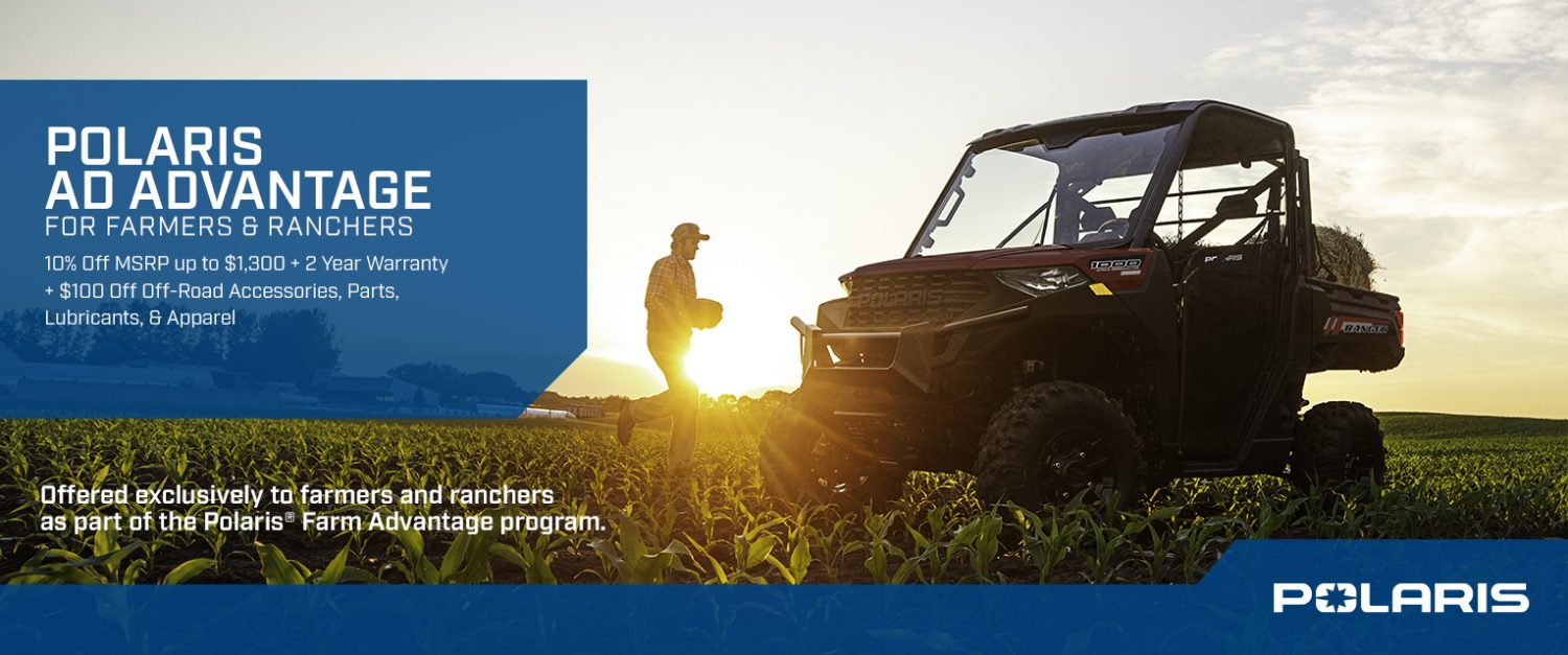 Farmers & Ranchers get 10% Off MSRP