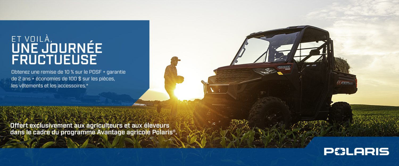 Agriculteurs et éleveurs, Obtenez une remise de 10 % sur le PDSF.