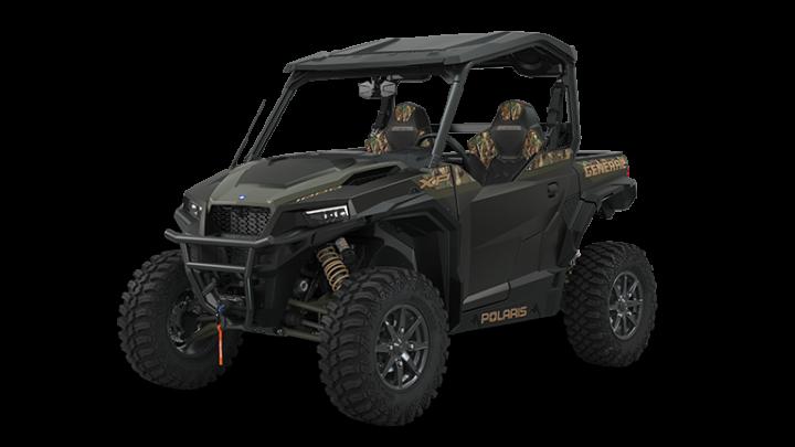 2022 Polaris GENERAL XP 1000 Deluxe RIDE COMMAND Edition Stealth Black Pursuit