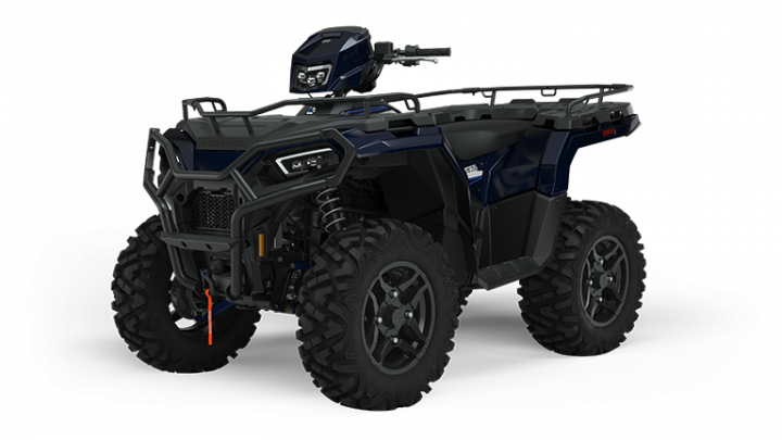 2022 Polaris Sportsman 570 Ride Command Edition Azure Crystal