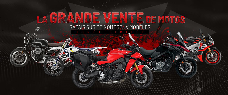 La grande vente des motos