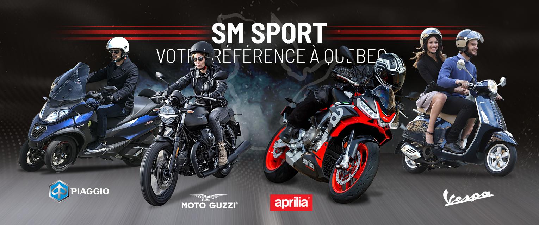 SM Sport – votre référence à Québec pour les scooters!